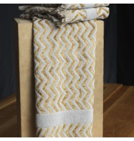 Misony Grey/Gold Hand Towel