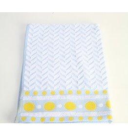 Roseberry White/Blue Dish Towel