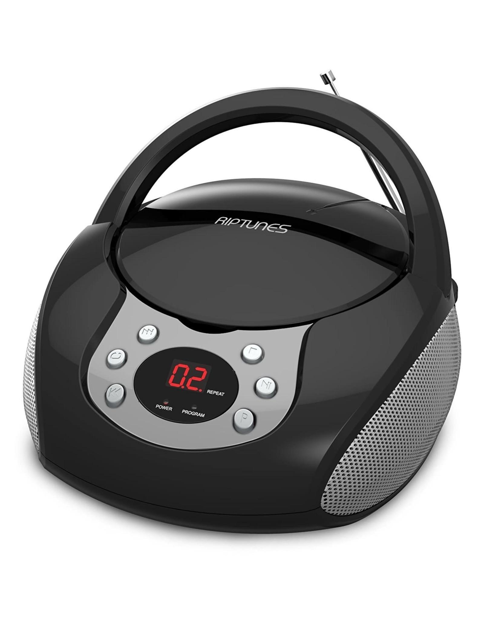 Boombox AM FM CD Black