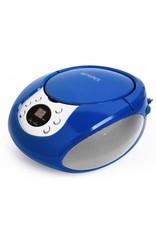Boombox AM FM CD Blue