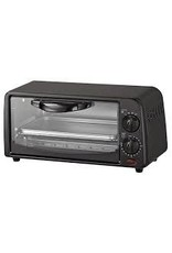 4 Slice Toaster Over Black