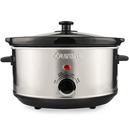 3.5 Qt Slow Cooker Stainless