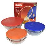 PYREX-BOWL&COV.SET-1.5/2.5/4qt-BOX