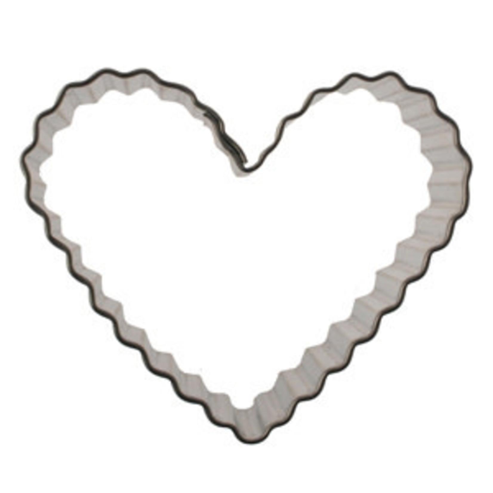 "2.5"" Fluted Heart Cookie Cutter"