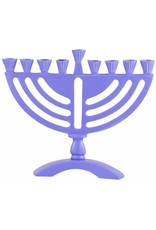 "6 X Purple Colored 6"" Menorah"