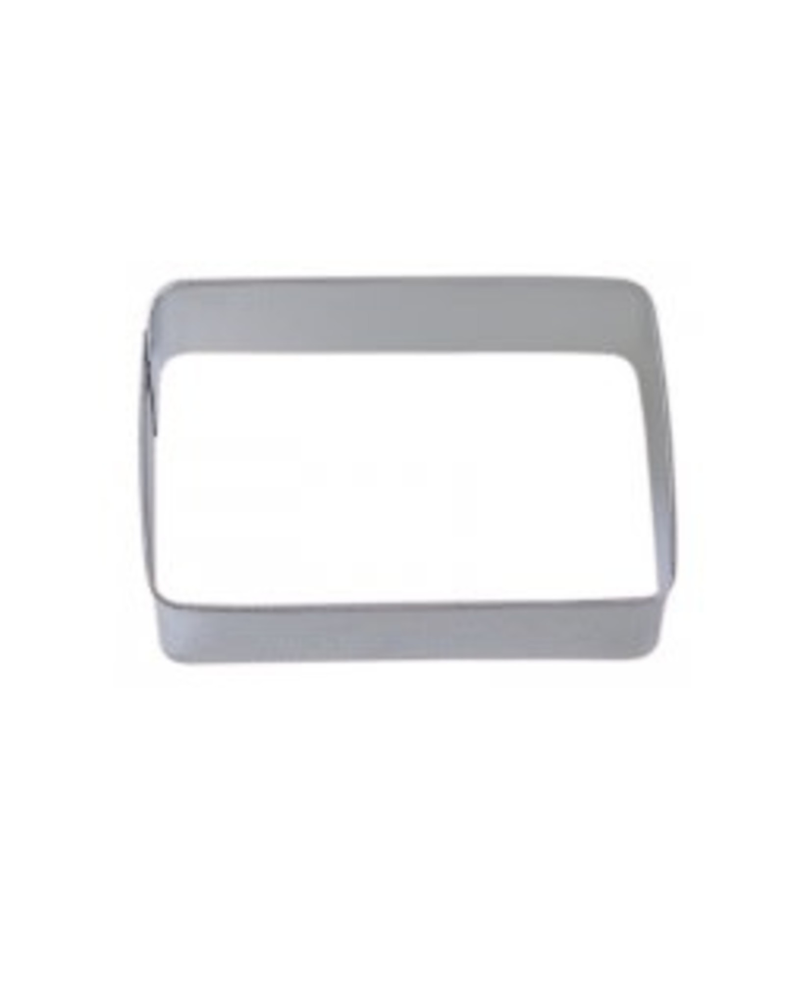 """3.5"""" Rectangle Cookie Cutter"""