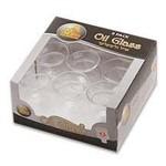 6 x 9pk. Round Oil Glass #3