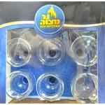 6 x 9pk. Round Oil Glass #4