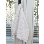 Luster Gold/White Hand Towel