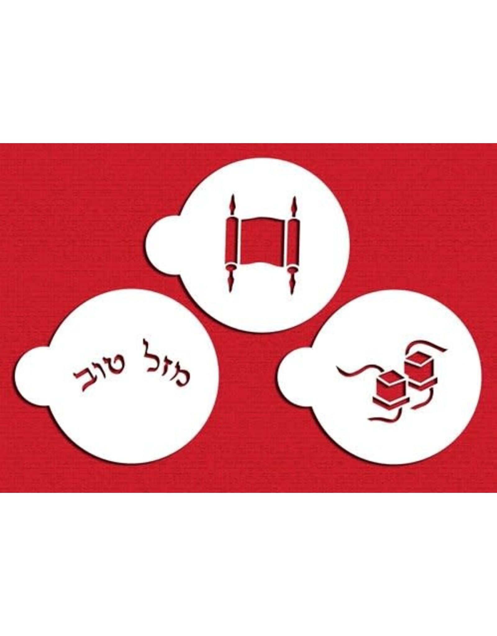 Bar Mitzvah Stencil