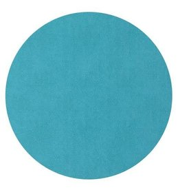 "15"" Presto Turquoise Round Mat"
