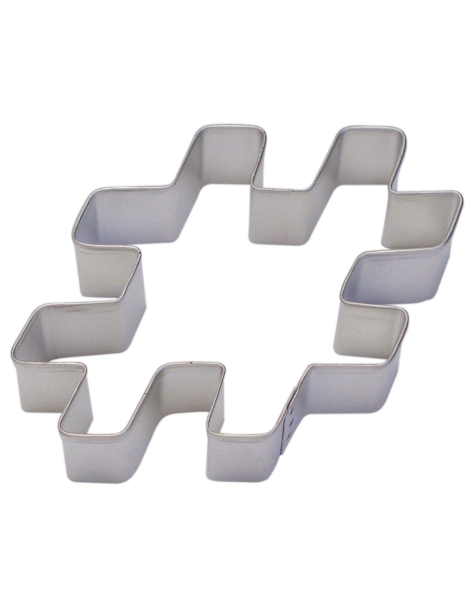 "4"" Hashtag/ Pound Cookie Cutter"