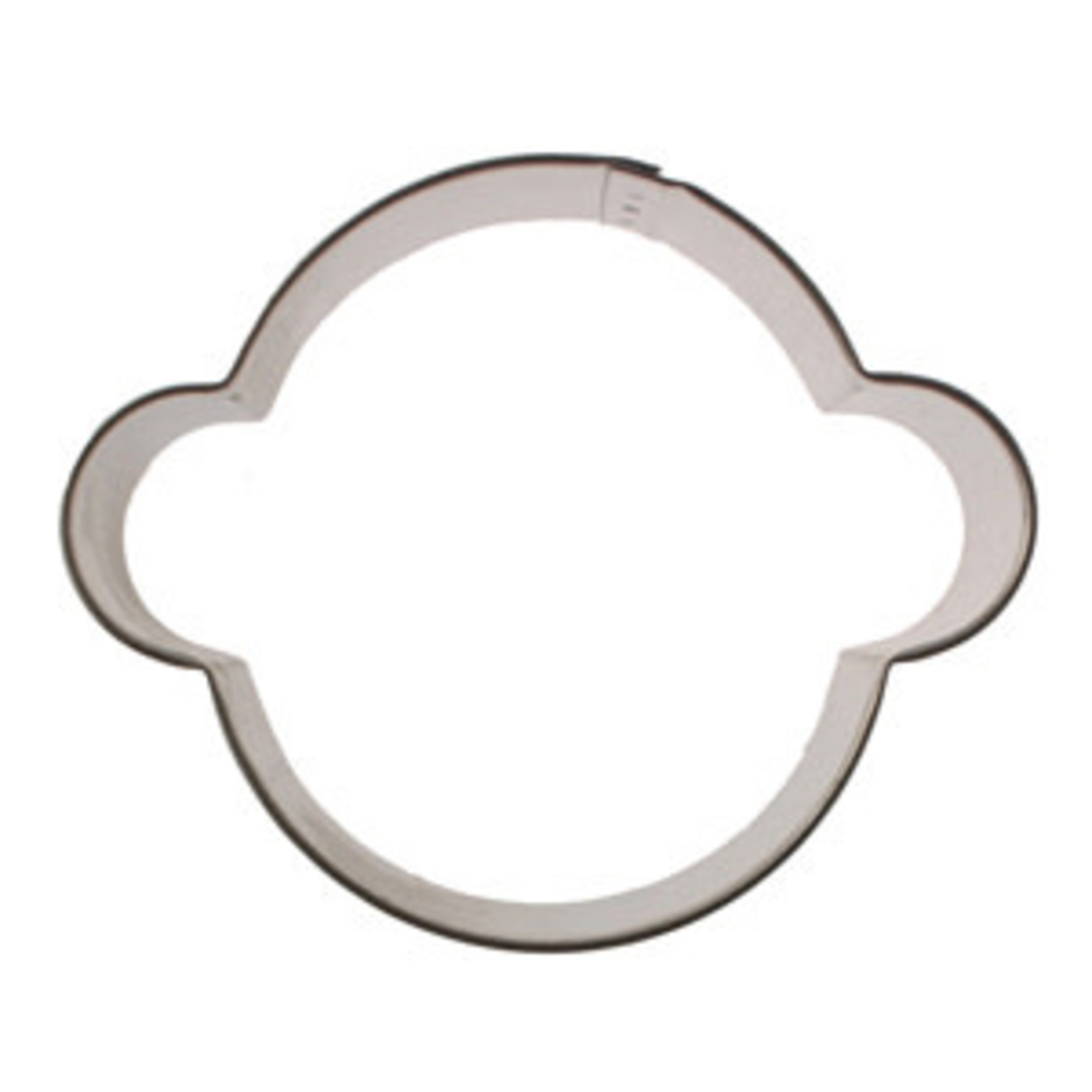 "3.25"" Monkey Face Cookie Cutter"