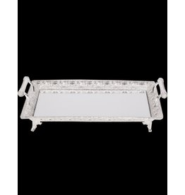 "Sliver Plated Tray 24"" X 16"""