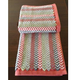Chevron Rust Hand Towel