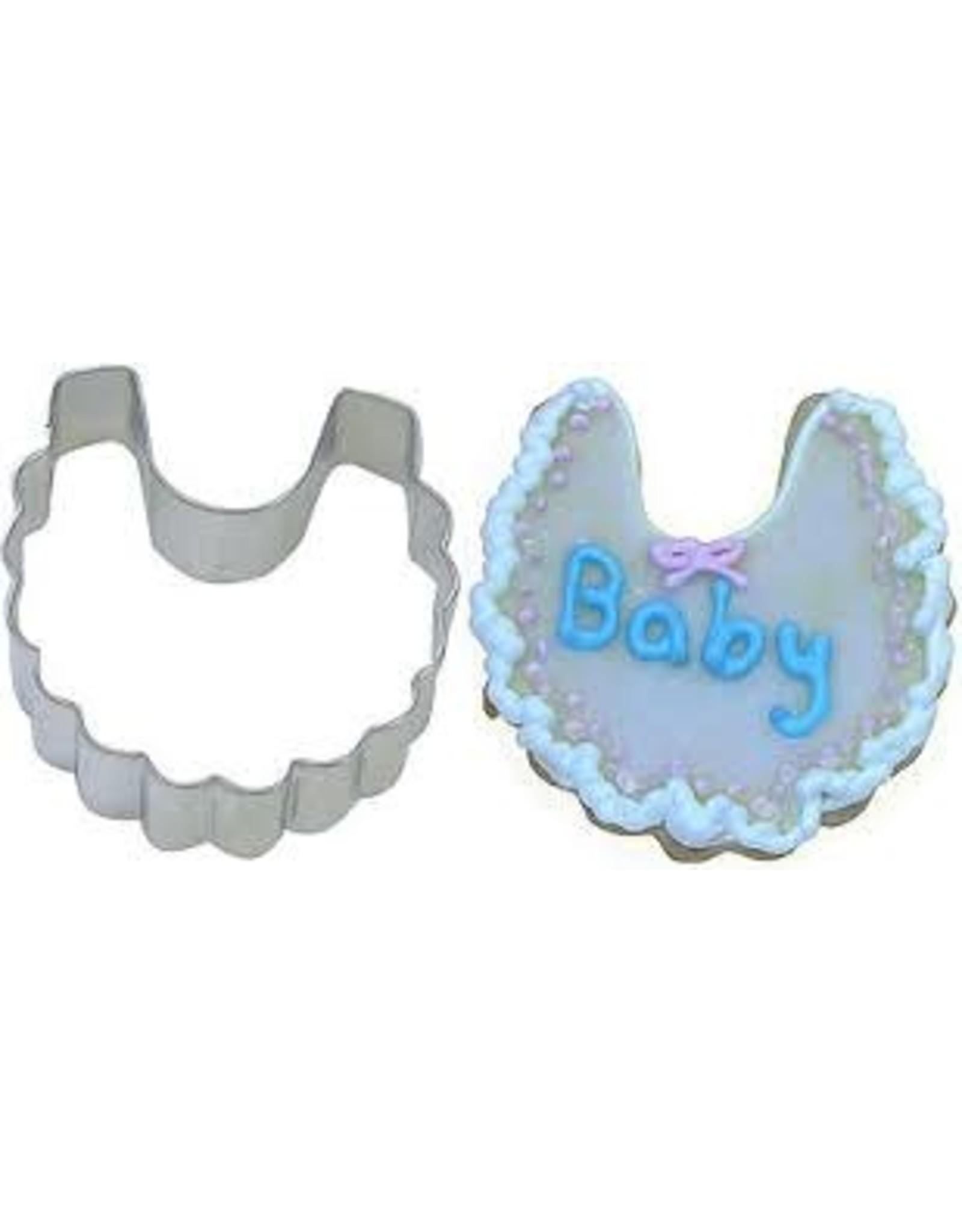 """3"""" Baby Bib Cookie Cutter"""