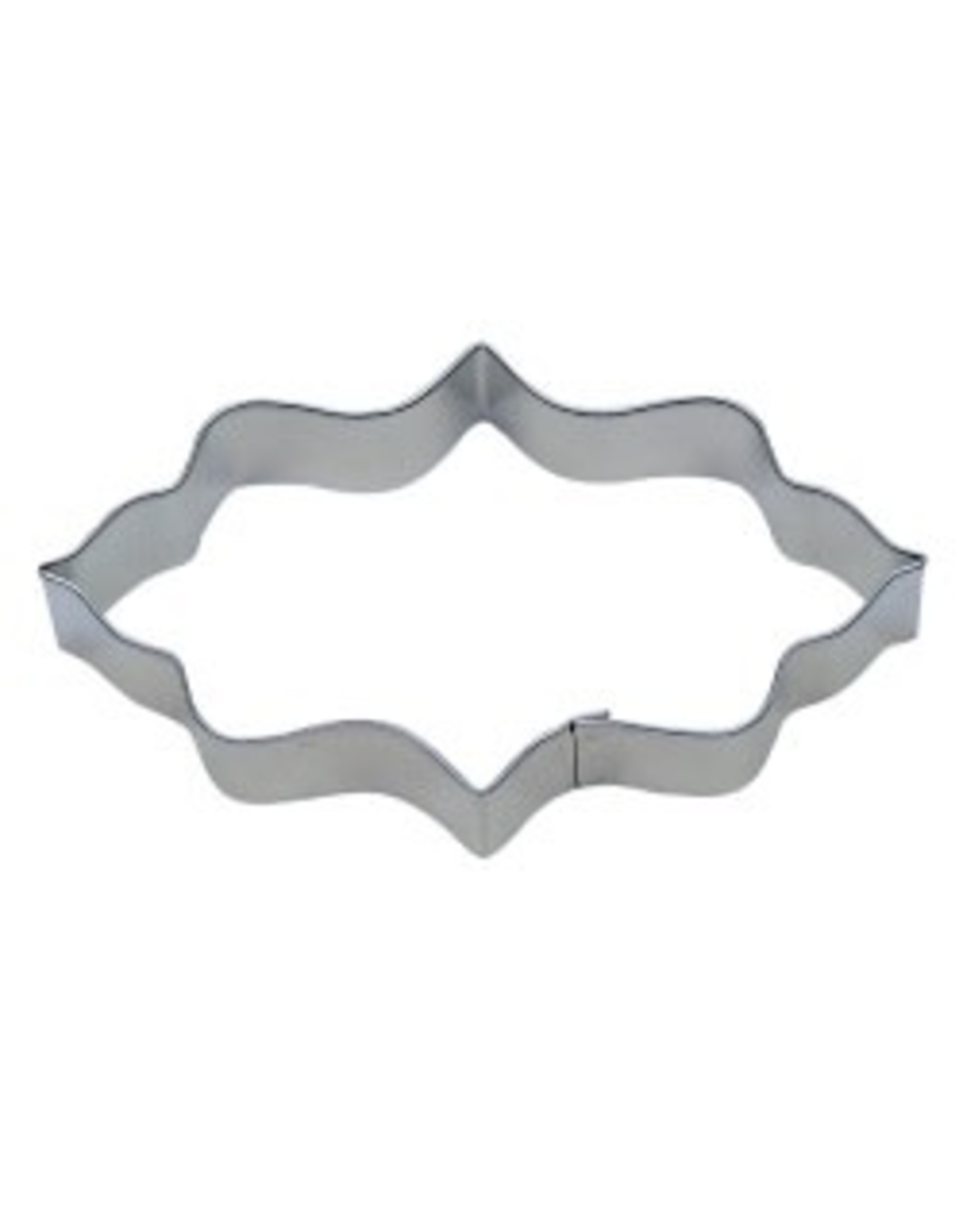 "4.75"" Elongated Plaque Cookie Cutter"