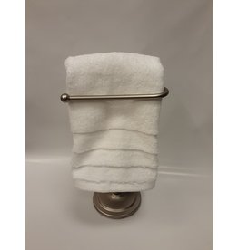 Luxe White Hand Towel