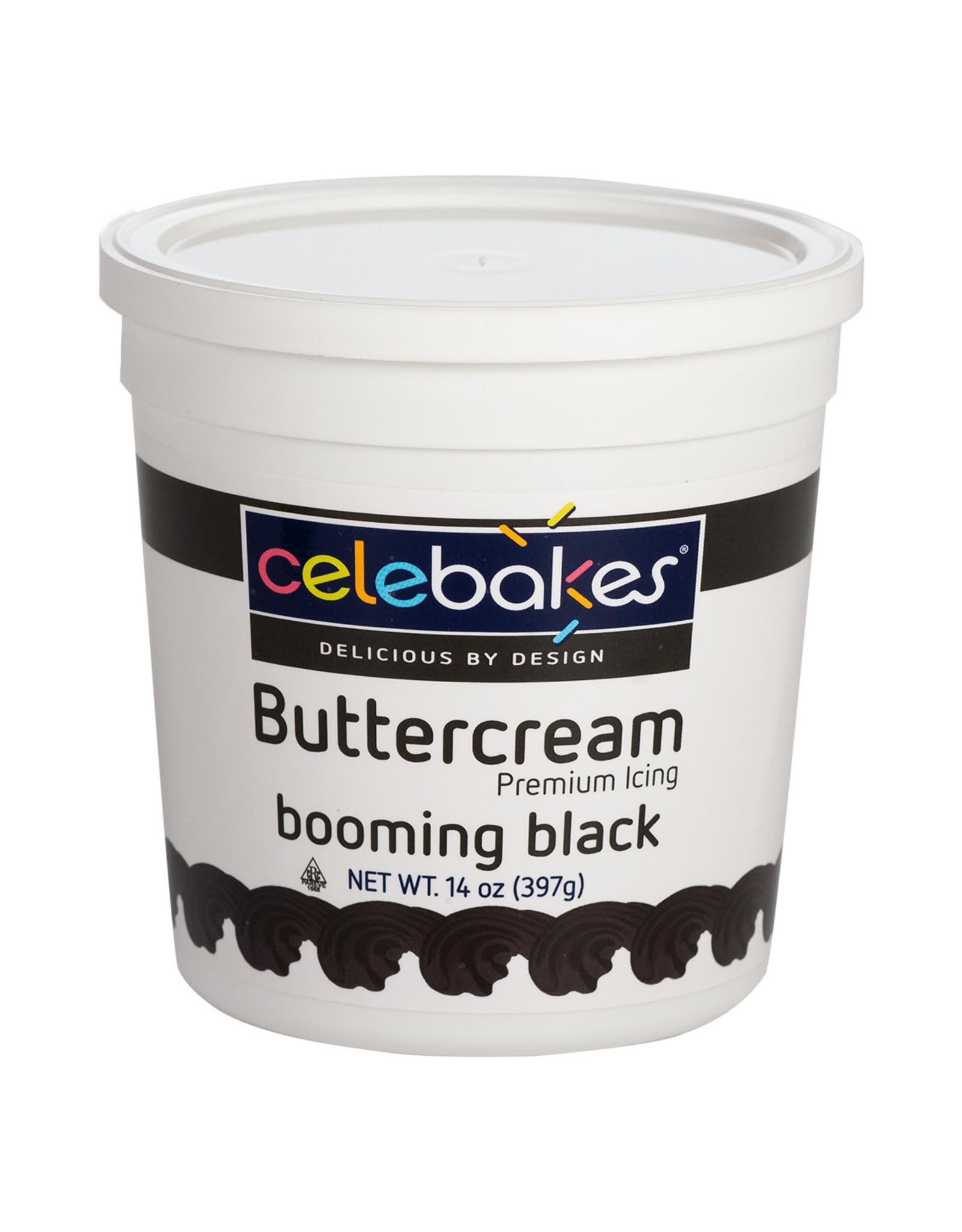 CK Black Buttercream Icing