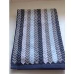 Chevron Blue Hand Towel