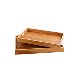 "SERVING TRAY,BAMBOO 15""x10"""