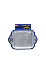 12 x Disposable Menorah Tray Large