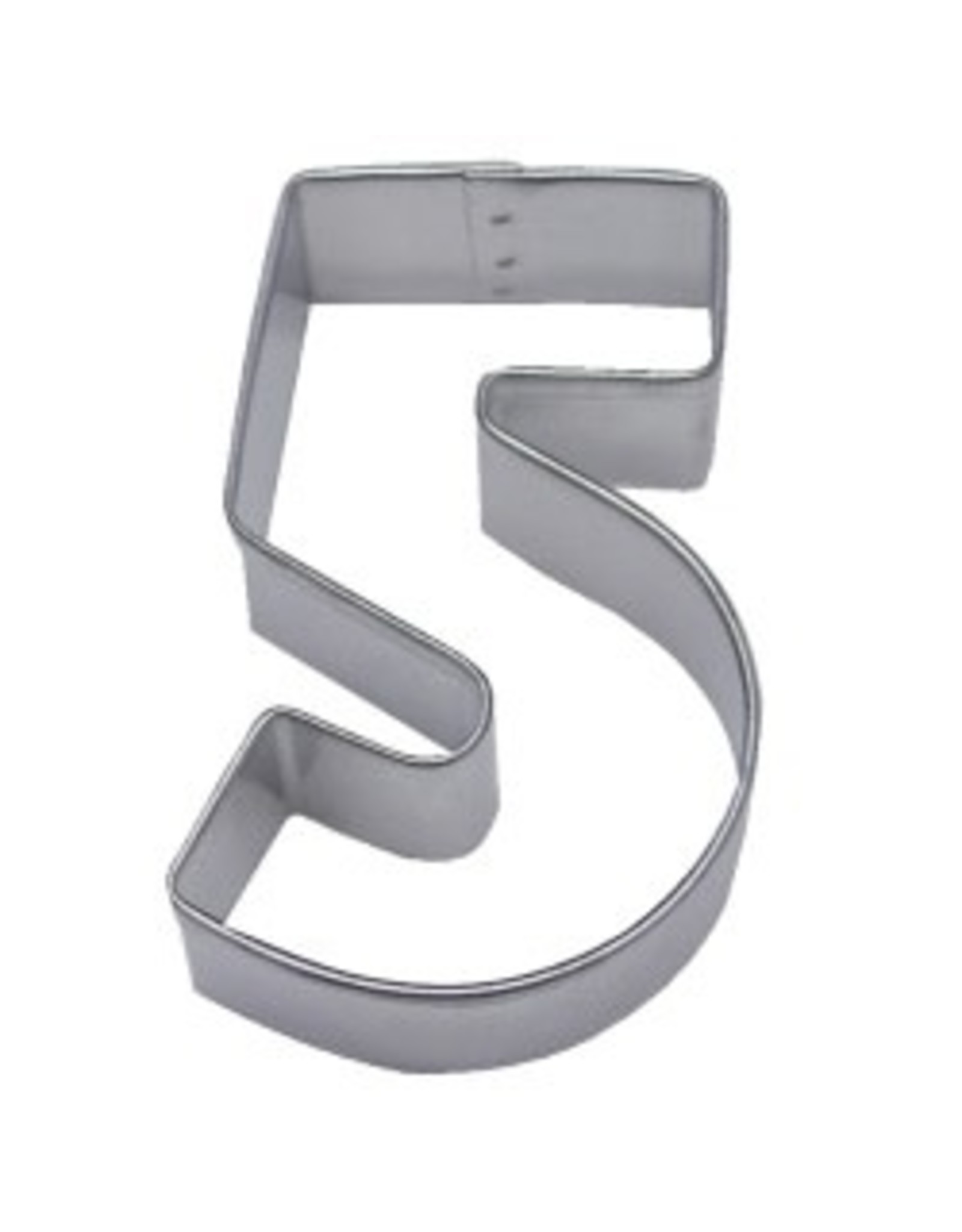 "3"" Number 5 Cookie Cutter"
