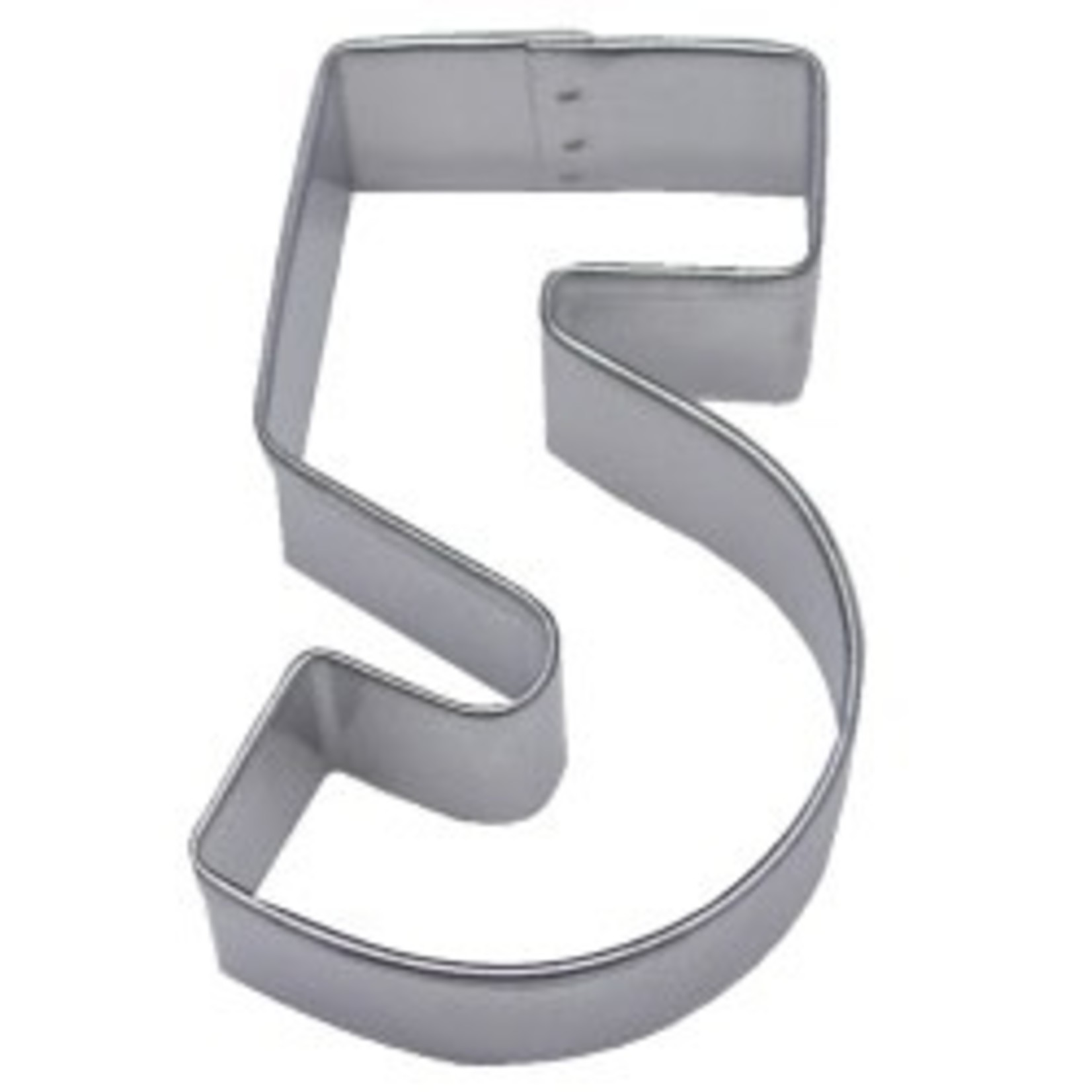 """3"""" Number 5 Cookie Cutter"""