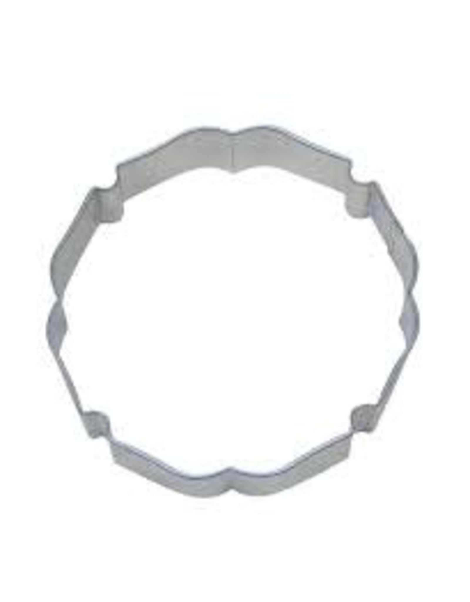 "4.25"" Badge Plaque Cookie Cutter"
