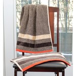Persimon Beige/Red Towel