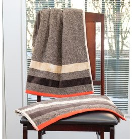 Persimon Beige/Red Towel