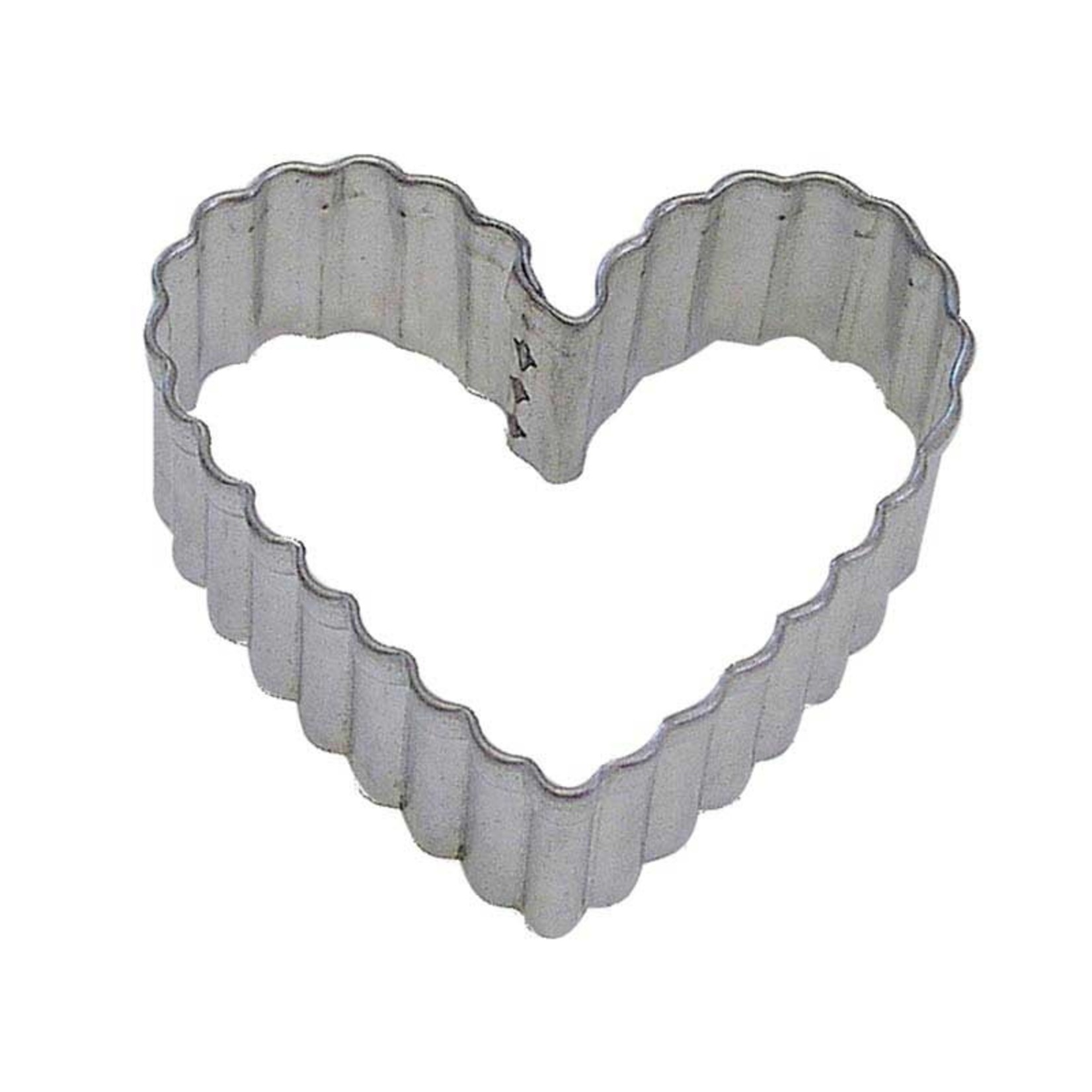 "3.5"" Fluted Heart Cookie Cutter"