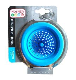 Kosher Cook Silicone Sink Strainer - Blue