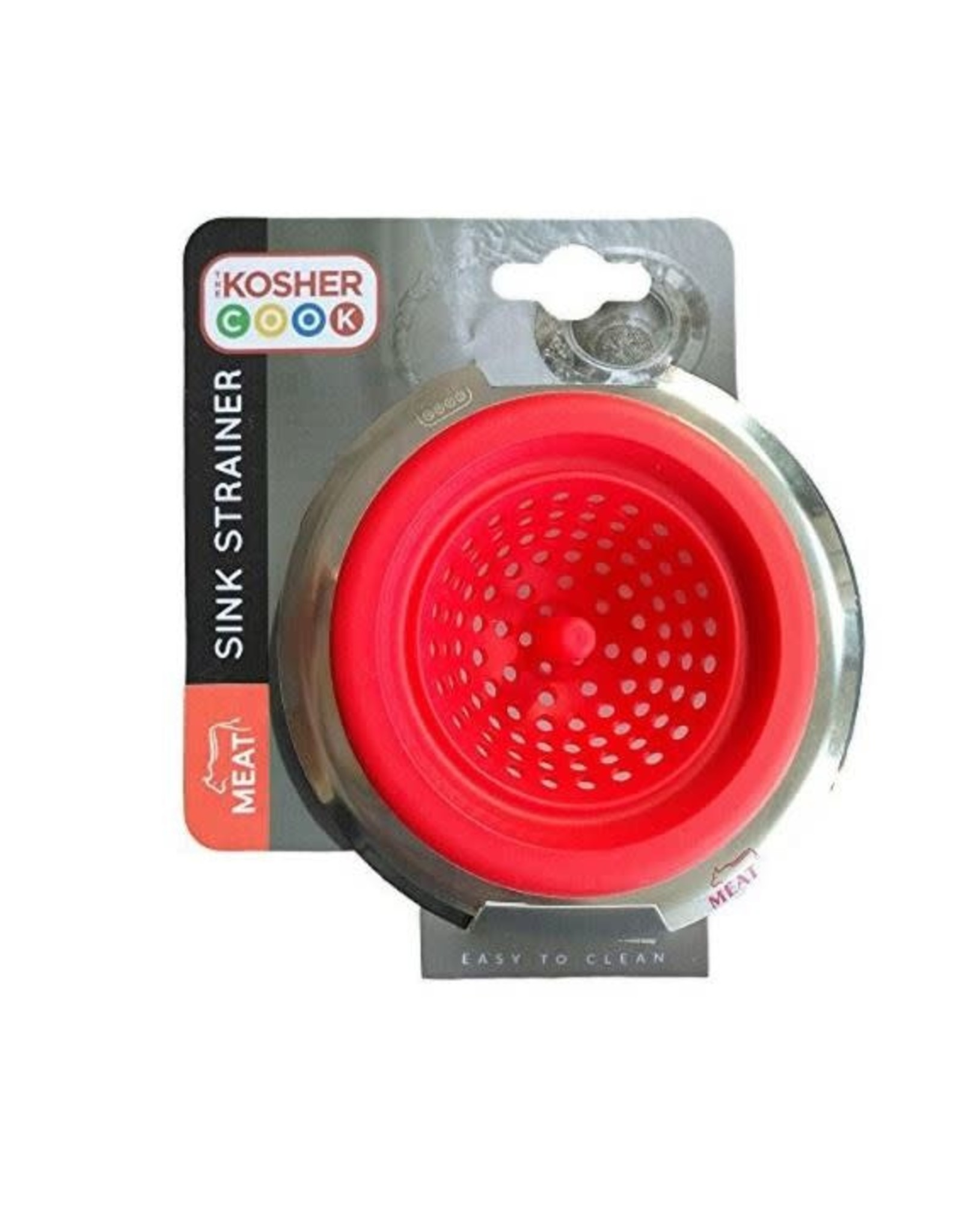 Kosher Cook Silicone Sink Strainer - Meat