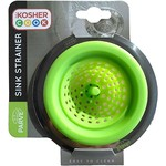 Kosher Cook Silicone Sink Strainer - Green