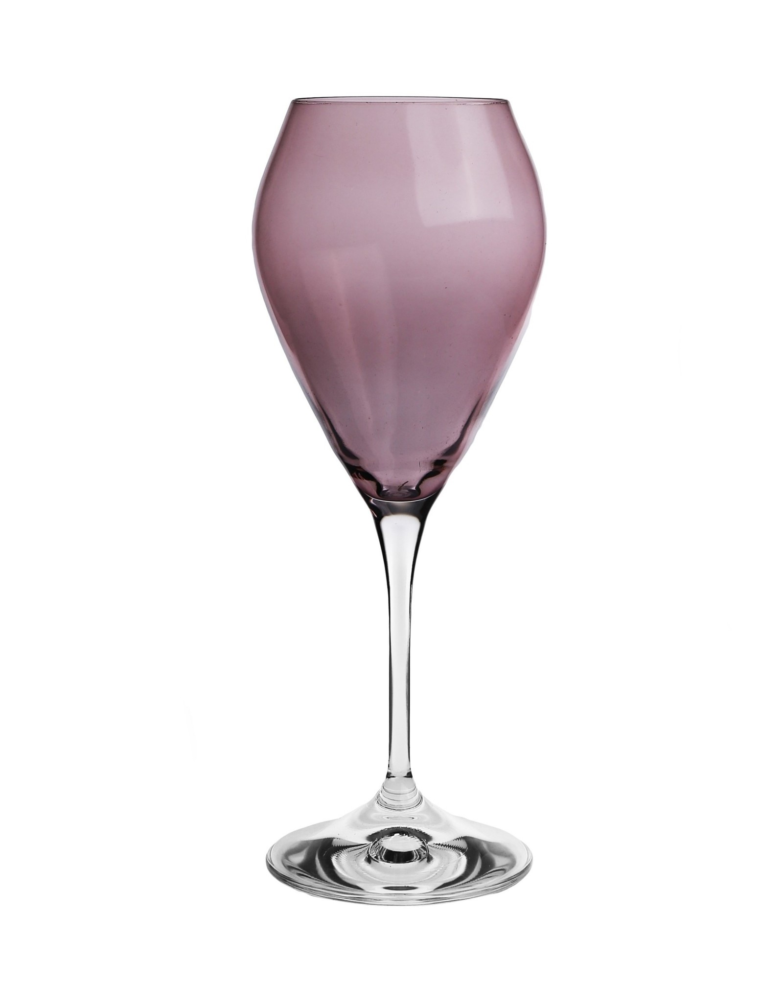 CWR818P V-Shape Goblet Purple