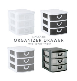 Kennedy MINI STACKABLE 3 DRAW -BASIC COLORS.