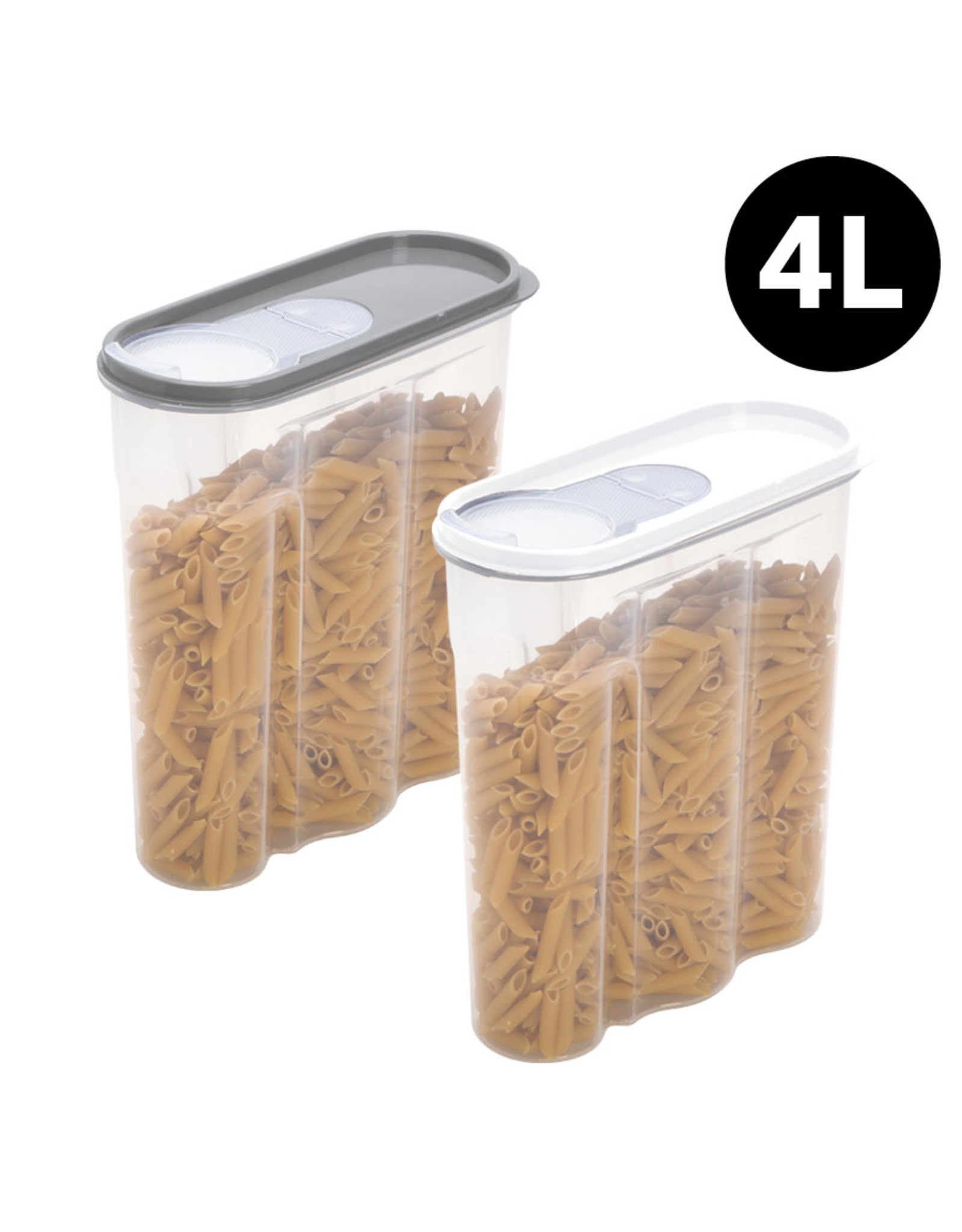 4 Qt Cereal Container