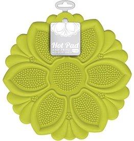 Green Flower Trivet