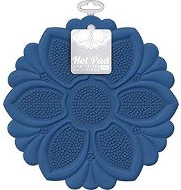 Royal Blue Flower Trivet