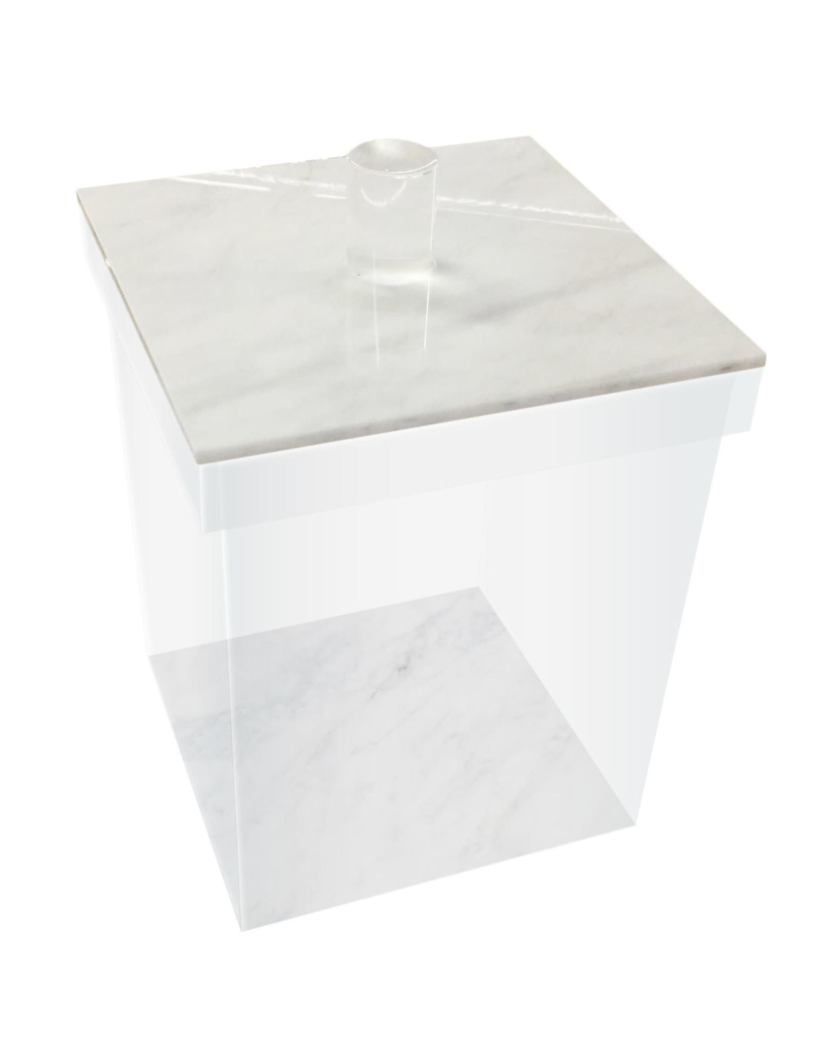 Cookie jars White marble Medium