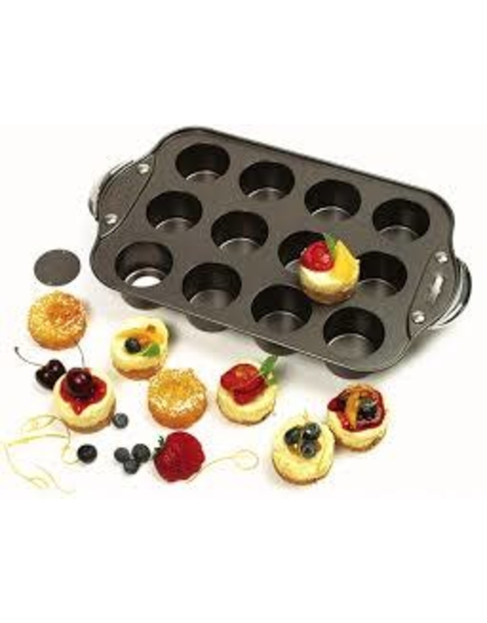 12 MINI CHEESECAKE PAN
