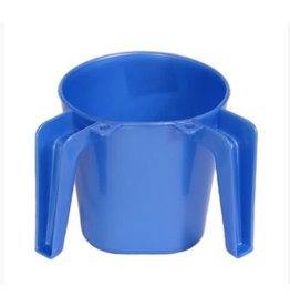 Plastic Square Small Wash Cup Assorted Colors