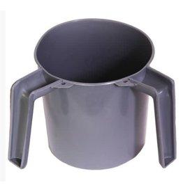 Round Grey Wash Cup