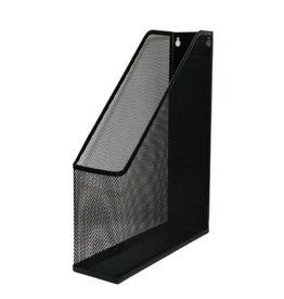 Mesh Steel Black Magazine File Holder Black 1101