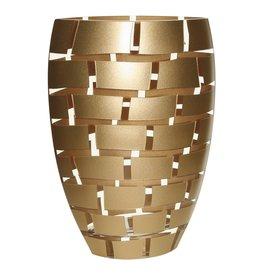 Gold wall 11 vase