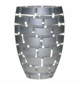 Badash Silver Wall Vase H12-Inch