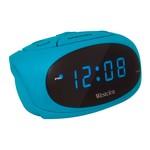 Teal Led Super Loud Alarm Clock