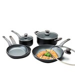 8 Pc Non Stick Cookware Set