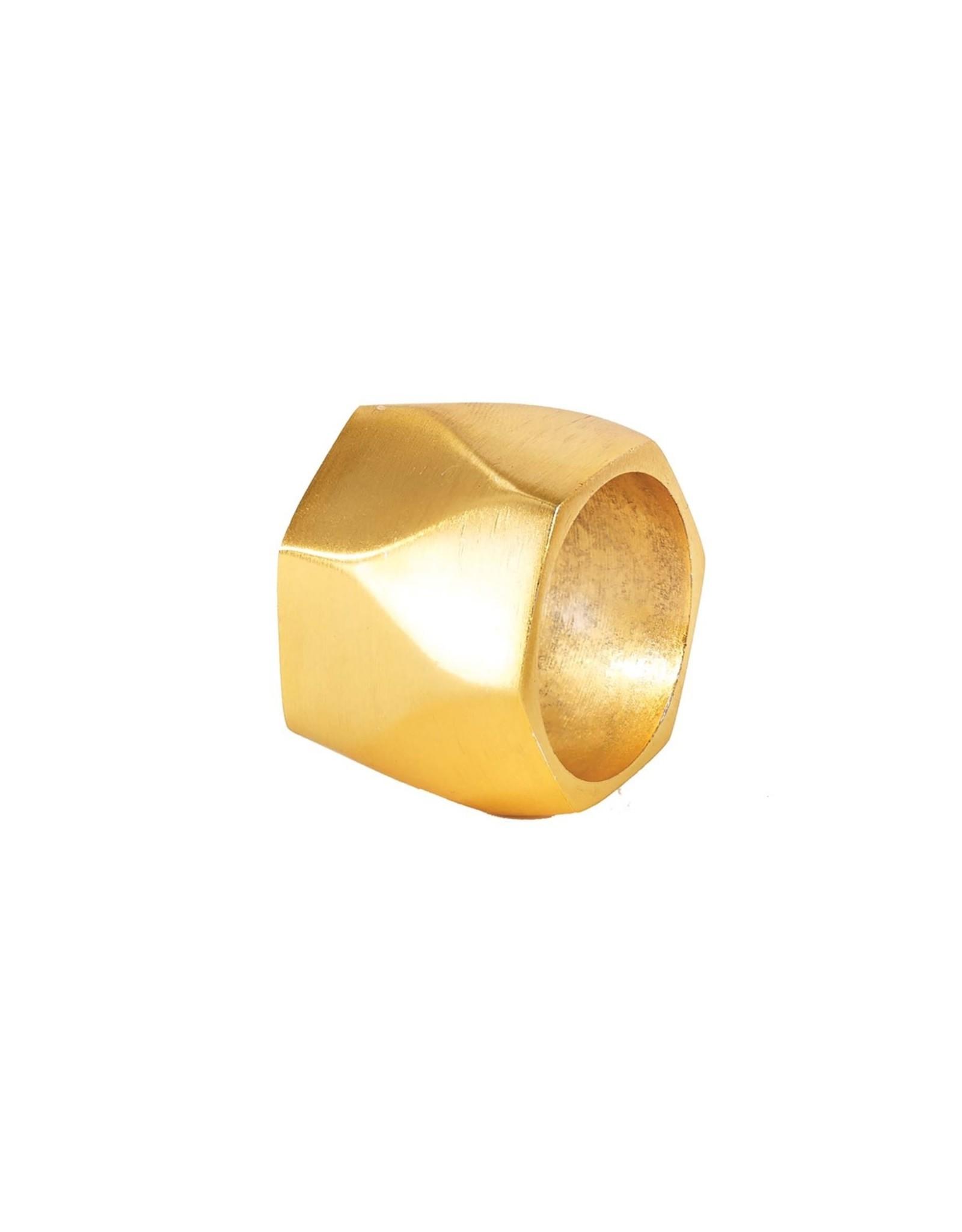 Bodrum Arch Gold Napkin Ring
